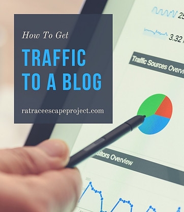 how to get traffic to a blog