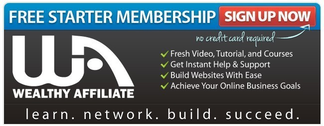 Wealthy Affiliate Starter Membership