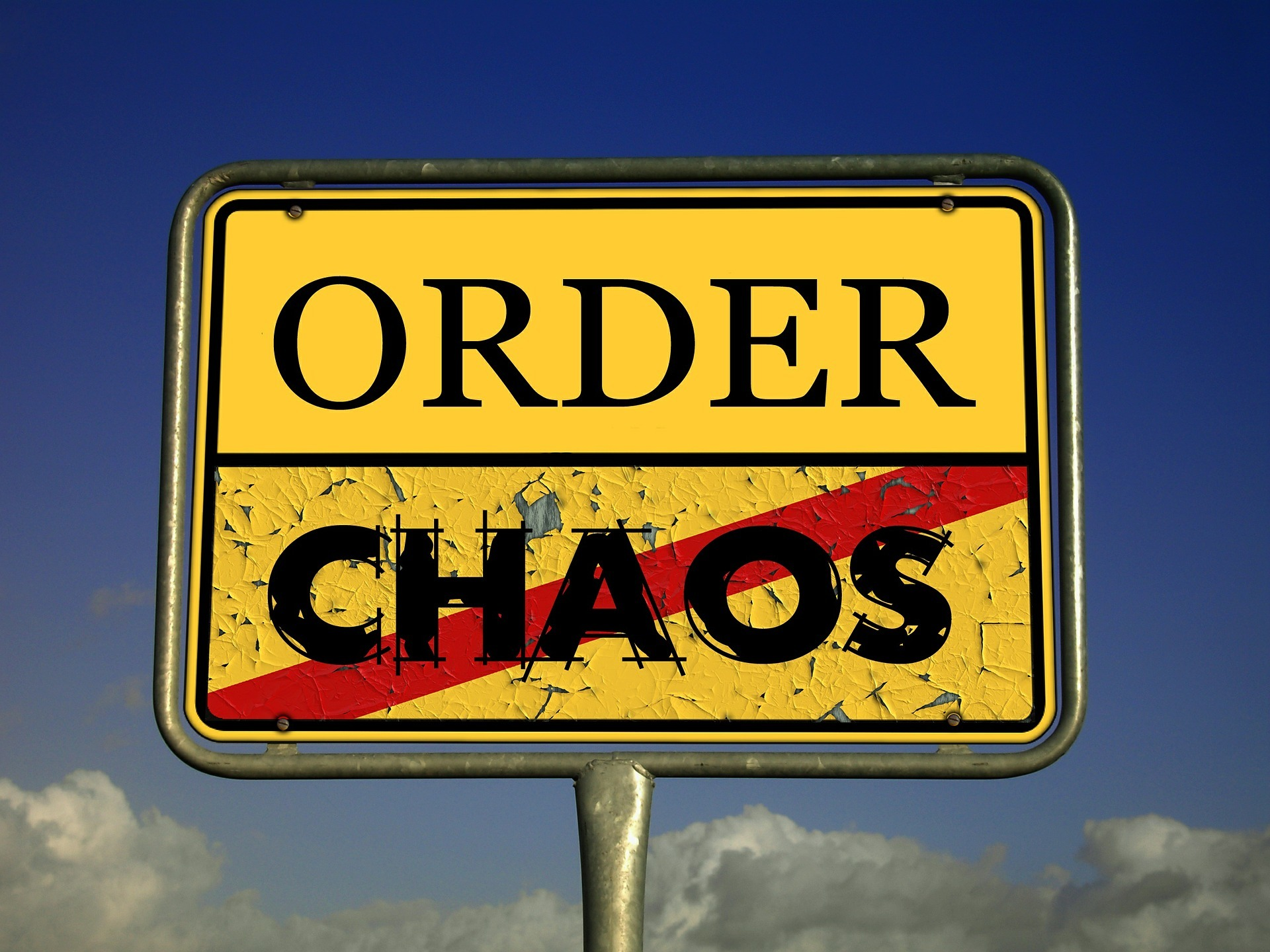 order or chaos sign
