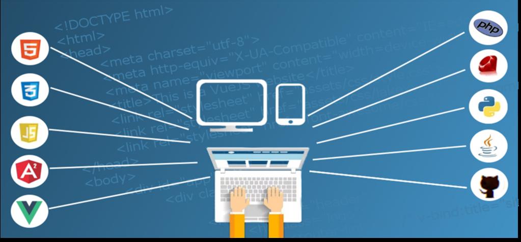 web hosting cartoon computer
