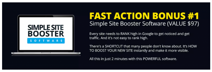 Site Booster Software Bonus 1