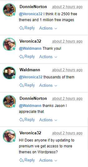 Live Chat Example 1
