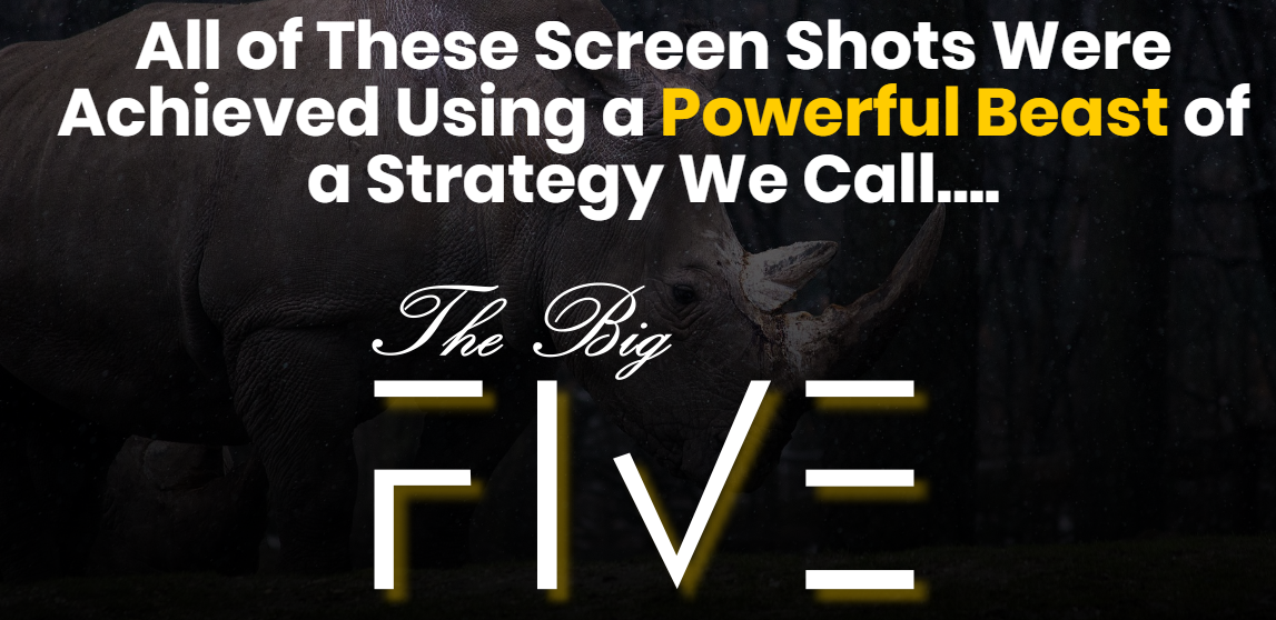 The Powerful Beast The Big Five