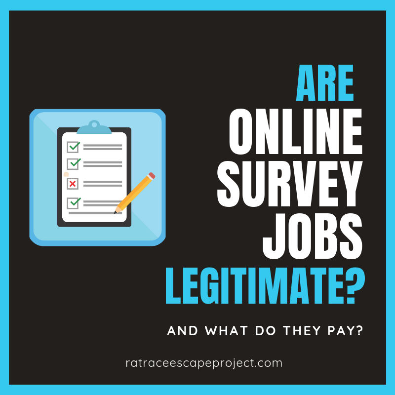 are online survey jobs legitimate graphic
